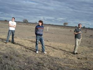 Verpeilt im Outback