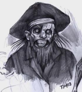 Zombie-Pirat